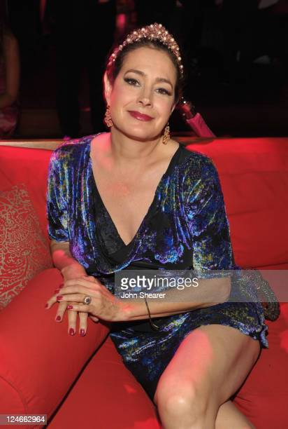 Actress Sean Young attends Elyse Walker Presents Pink Party '11 Hosted By Jennifer Garner To Benefit Cedars-Sinai Women's Cancer Program at Drai's...