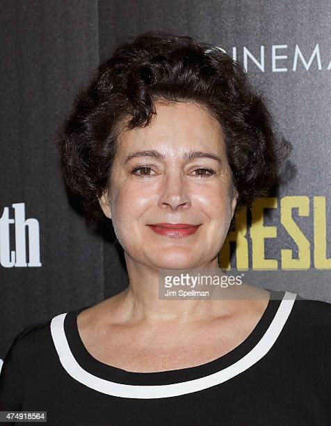 """Actress Sean Young attends Magnolia Pictures' """"Results"""" premiere hosted by The Cinema Society with Women's Health and FIJI Water at Sunshine Landmark..."""