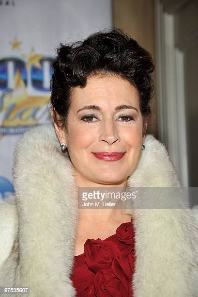 Actress Sean Young attends the 20th Annual Night of 100 Stars Oscar Gala in the Crystal Ballroom at the Beverly Hills Hotel on March 7, 2010 in...