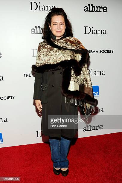 """Actress Sean Young attends The Cinema Society with Linda Wells & Allure Magazine premiere of Entertainment One's """"Diana"""" at SVA Theater on October..."""