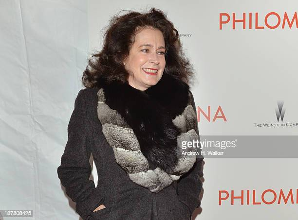 """Actress Sean Young attends the premiere of """"Philomena"""" hosted by The Weinstein Company at Paris Theater on November 12, 2013 in New York City."""