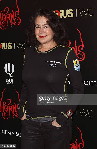 """Actress Sean Young attends the RADiUS TWC and The Cinema Society New York Premiere of """"Horns"""" at Landmark's Sunshine Cinema on October 27, 2014 in..."""