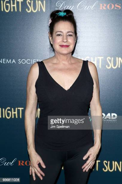 """Actress Sean Young attends the screening of Global Road Entertainment's """"Midnight Sun"""" hosted by The Cinema Society and Day Owl Rose at The Landmark..."""