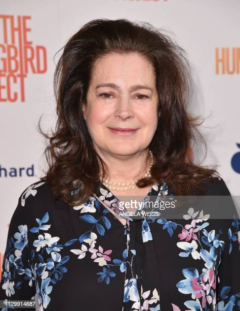 Actress Sean Young attends the 'The Hummingbird Project' New York screening at Metrograph on March 11 2019 in New York City