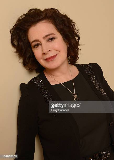Actress Sean Young poses for a portrait during the 2013 Sundance Film Festival at the Getty Images Portrait Studio at Village at the Lift on January...