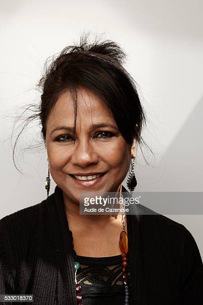 Actress Seema Biswas is photographed for Self Assignment on May 19 2016 in Cannes France
