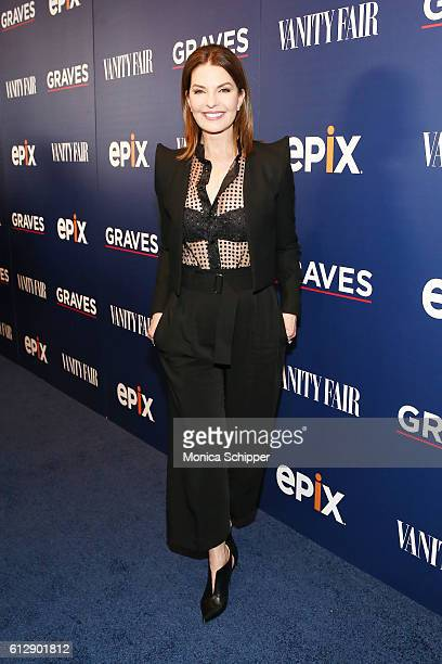 Actress Sela Ward attends the EPIX Graves NY premiere on October 5 2016 in New York City