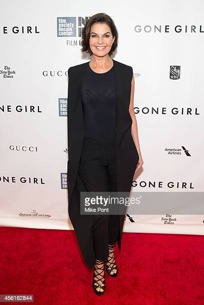 Actress Sela Ward attends the Opening Night Gala Presentation And World Premiere Of Gone Girl 52nd New York Film Festival at Alice Tully Hall on...