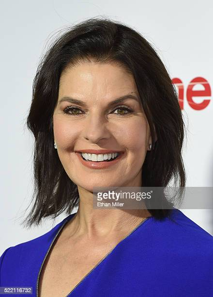 Actress Sela Ward one of the recipients of the Ensemble of the Universe Award for Independence Day Resurgence attends the CinemaCon Big Screen...