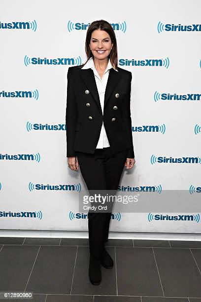 Actress Sela Ward visits the SiriusXM Studio on October 5 2016 in New York City