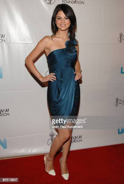 BEVERLY HILLS CA AUGUST 21 Actress Selena Gomez arrives at the 23rd Annual Imagen Awards held at the Beverly Hilton on August 21 2008 in Beverly...