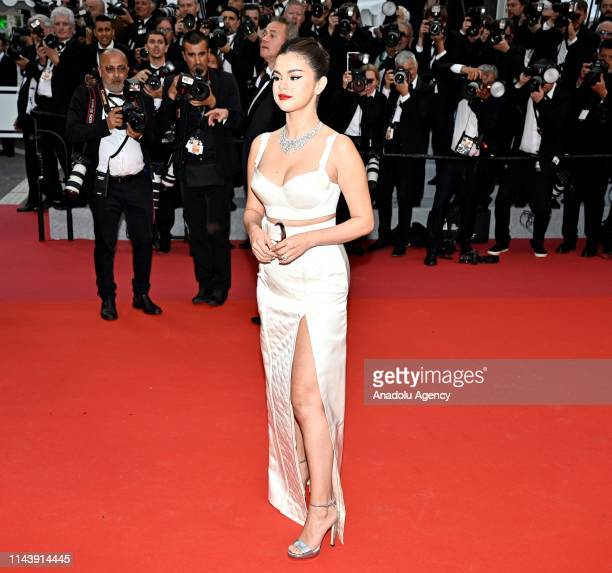 US actress Selena Gomez arrives for the screening of the film 'The Dead Don't Die' and the Opening Ceremony at the 72nd annual Cannes Film Festival...