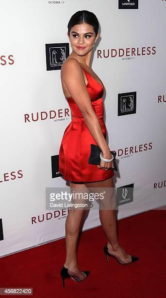 Actress Selena Gomez attends a screening of Samuel Goldwyn Films' Rudderless at the Vista Theatre on October 7 2014 in Los Angeles California