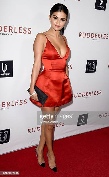 Actress Selena Gomez attends 'Rudderless' VIP Screening at the Vista Theatre on October 7 2014 in Los Angeles California