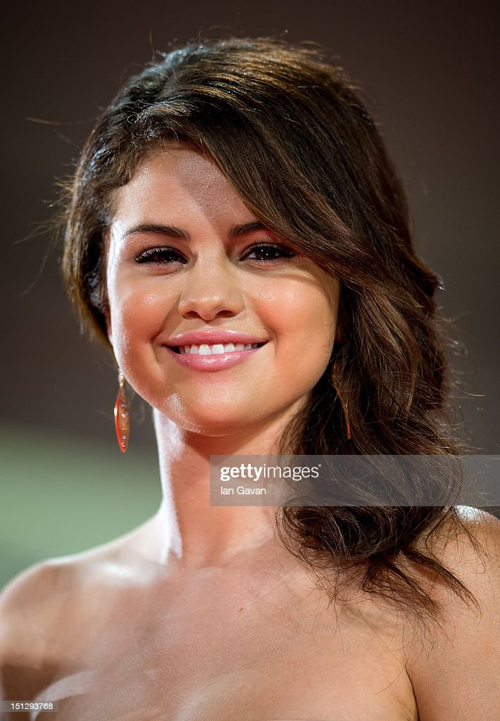 Actress Selena Gomez attends the 'Spring Breakers' Premiere during The 69th Venice Film Festival at the Palazzo del Cinema on September 5, 2012 in Venice, Italy.