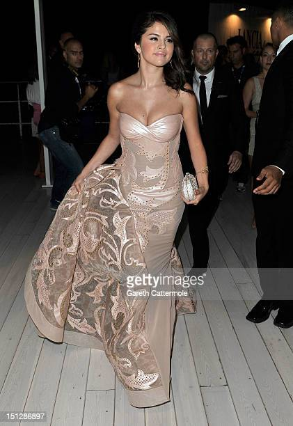 """Actress Selena Gomez before the """"Spring Breakers"""" Premiere during The 69th Venice Film Festival at the Palazzo del Cinema on September 5, 2012 in..."""