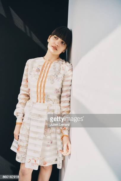 Actress Selene Caramazza is photographed for Self Assignment on May 24 2017 in Cannes France