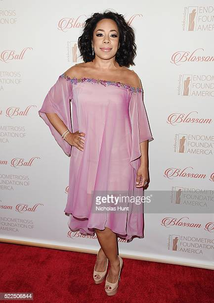 Actress Selenis Levya attends the 8th Annual Blossom Ball at Pier Sixty at Chelsea Piers on April 19 2016 in New York City