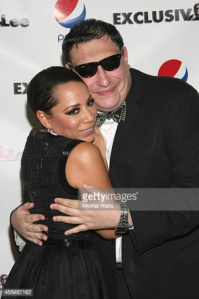 Actress Selenis Leyva and Founder Lee Hernandez attends the Exclusivleecom Launch Party>> at Stray Kat Gallery on September 18 2014 in New York City