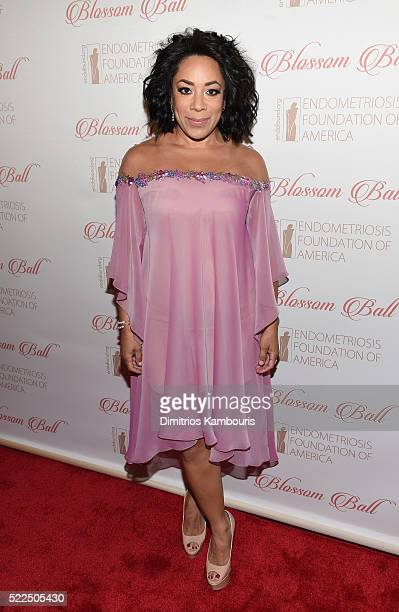Actress Selenis Leyva arrives at the 8th Annual Blossom Ball benefiting the Endometriosis Foundation of America hosted by EFA Founders Padma Lakshmi...