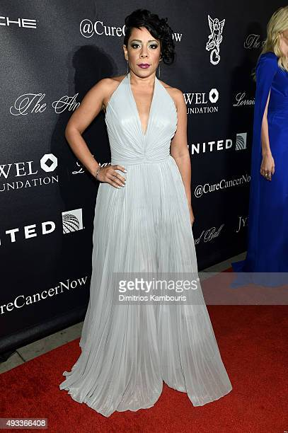 Actress Selenis Leyva attends Angel Ball 2015 hosted by Gabrielle's Angel Foundation at Cipriani Wall Street on October 19 2015 in New York City