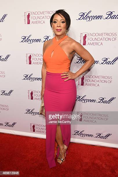 Actress Selenis Leyva attends EFA's 7th Annual Blossom Ball at Cipriani Downtown on April 13 2015 in New York City