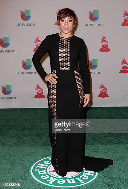 Actress Selenis Leyva attends the 15th annual Latin GRAMMY Awards at the MGM Grand Garden Arena on November 20 2014 in Las Vegas Nevada