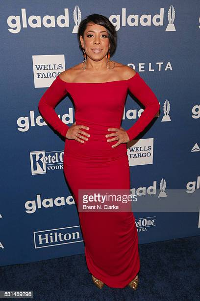 Actress Selenis Leyva attends the 27th Annual GLAAD Media Awards held at The Waldorf=Astoria on May 14 2016 in New York City