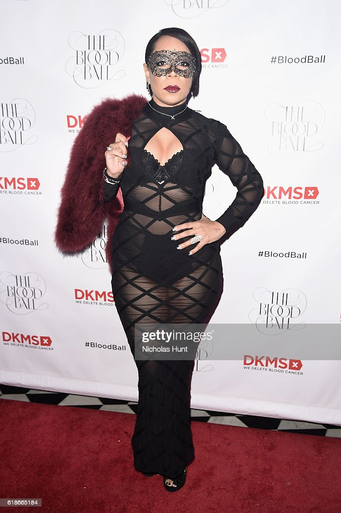 Actress Selenis Leyva attends the DKMS 2016 Blood Ball at Diamond Horseshoe on October 27, 2016 in New York City.
