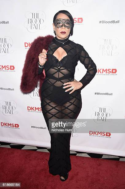 Actress Selenis Leyva attends the DKMS 2016 Blood Ball at Diamond Horseshoe on October 27 2016 in New York City