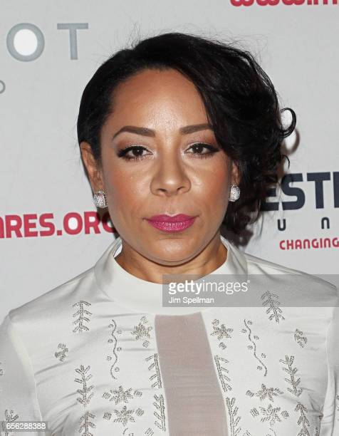 Actress Selenis Leyva attends the Maestro Cares Foundation's Fourth Annual Changing Lives/Building Dreams Gala at Cipriani Wall Street on March 21...