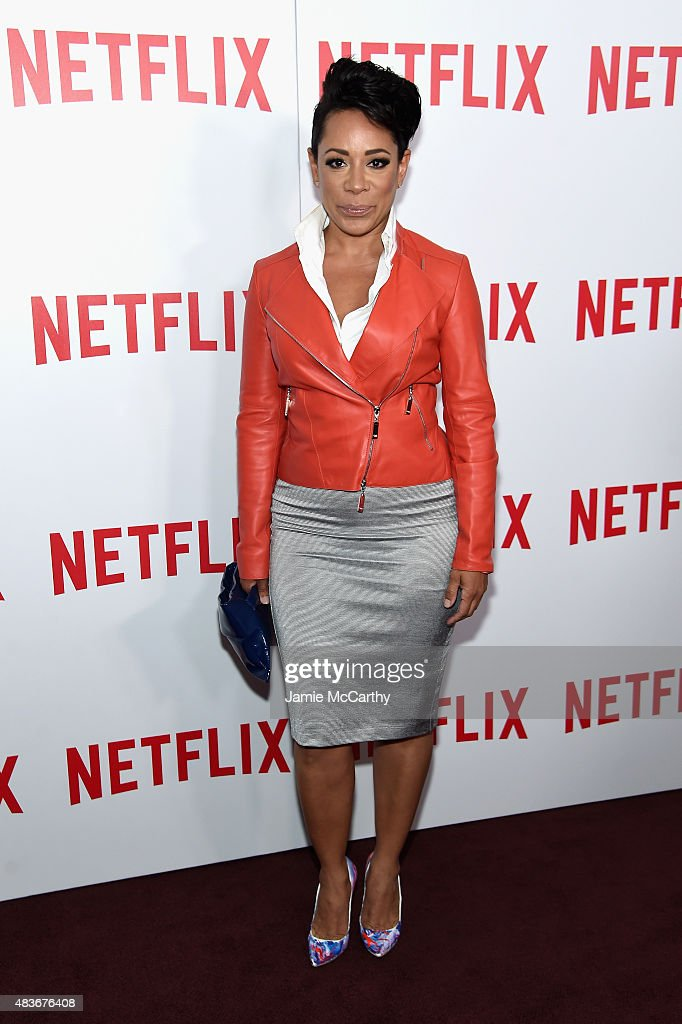 Actress Selenis Leyva attends the 'Orange Is The New Black' FYC screening at DGA Theater on August 11, 2015 in New York City.