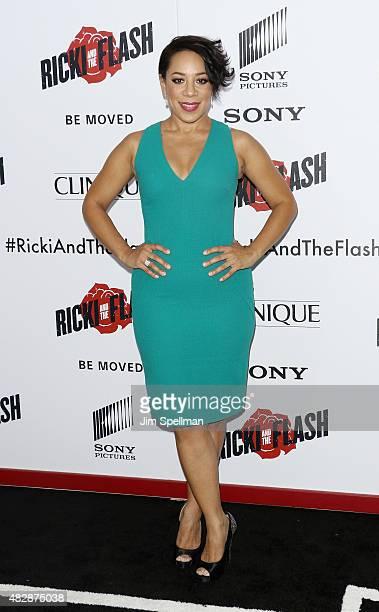 Actress Selenis Leyva attends the 'Ricki And The Flash' New York premiere at AMC Lincoln Square Theater on August 3 2015 in New York City