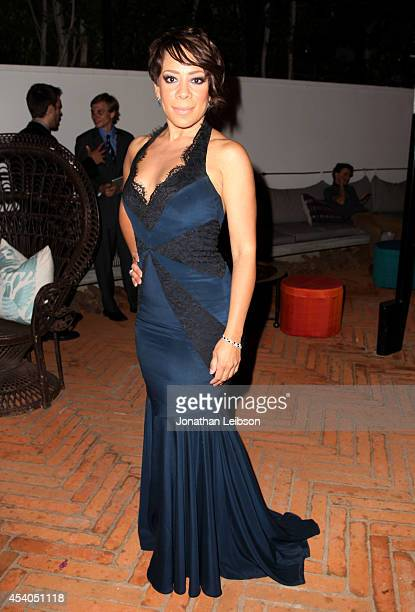 Actress Selenis Leyva attends Variety and Women in Film Emmy Nominee Celebration powered by Samsung Galaxy on August 23 2014 in West Hollywood...