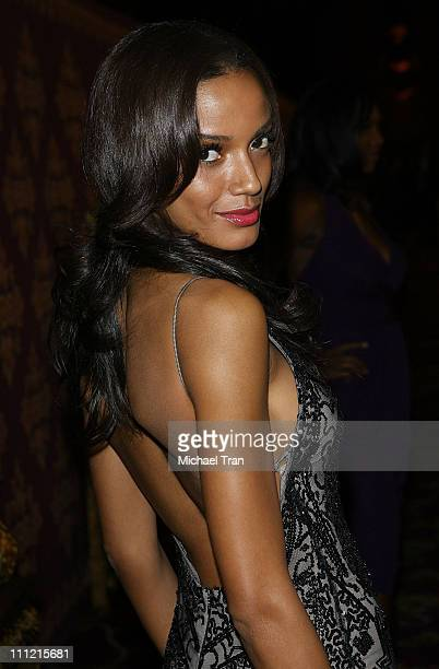 Actress Selita Ebanks attends HBO after party for the 59th Primetime Emmy Awards at The Pacific Design Center on September 16 2007 in Los Angeles...