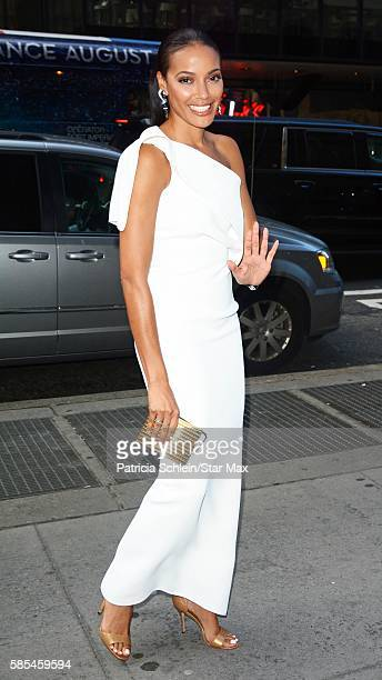 Actress Selita Ebanks is seen on August 2 2016 in New York City