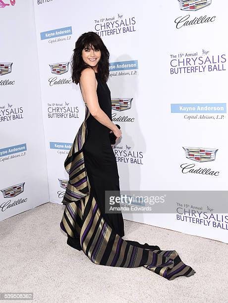 Actress Selma Blair arrives at the 15th Annual Chrysalis Butterfly Ball on June 11 2016 in Brentwood California