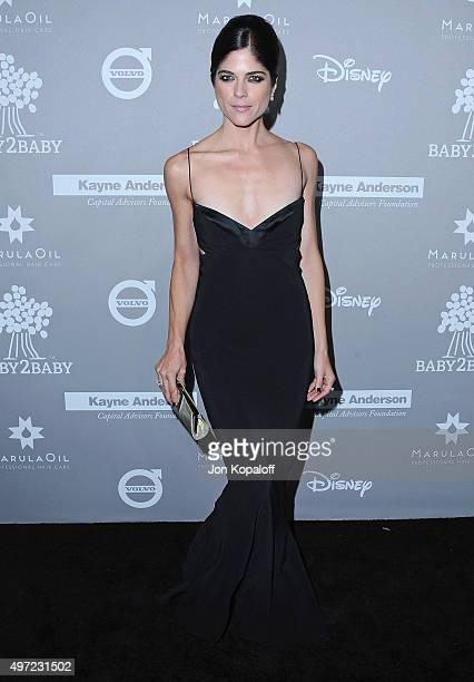 Actress Selma Blair arrives at the 2015 Baby2Baby Gala at 3LABS on November 14 2015 in Culver City California