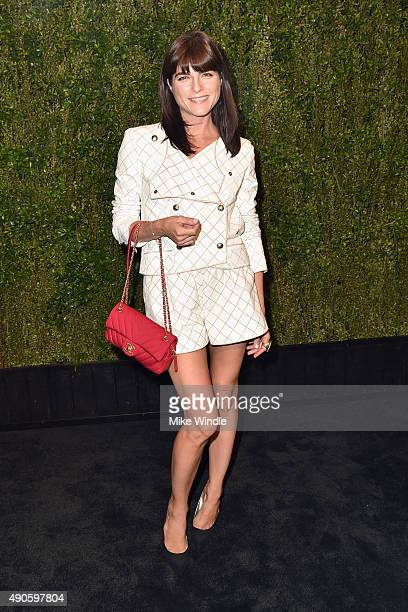 Actress Selma Blair attends CHANEL Dinner in Honor of Baby2Baby at CHANEL Boutique on September 29 2015 in Los Angeles California