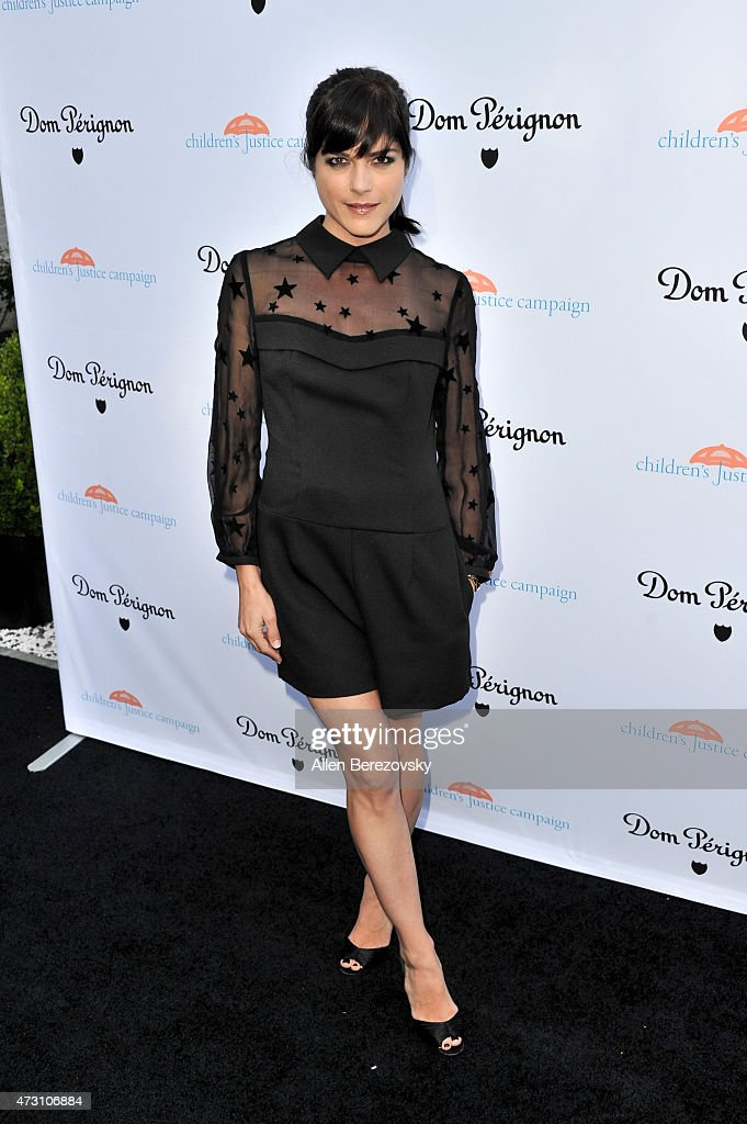 Actress Selma Blair attends Children's Justice Campaign Event on May 12, 2015 in Beverly Hills, California.