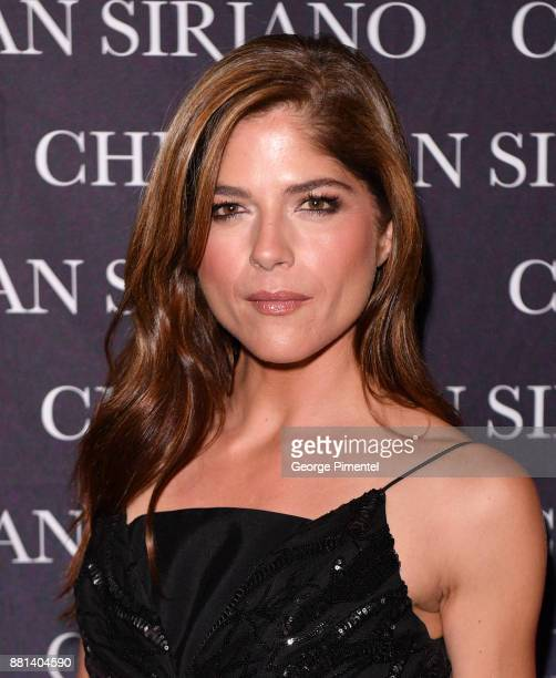 Actress Selma Blair attends Christian Siriano Canadian Book Launch held at Bisha Hotel Residences on November 28 2017 in Toronto Canada