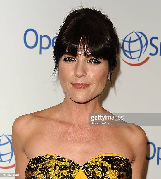 Actress Selma Blair attends Operation Smile's 2015 Smile Gala at the Beverly Wilshire Four Seasons Hotel on October 2, 2015 in Beverly Hills,...