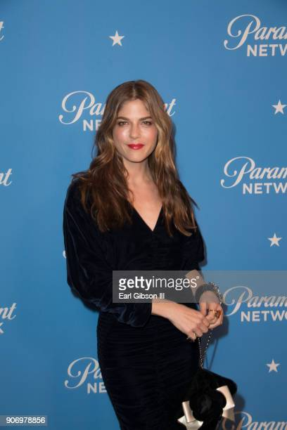 Actress Selma Blair attends Paramount Network Launch Party at Sunset Tower on January 18, 2018 in Los Angeles, California.