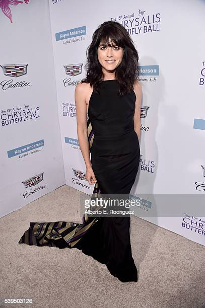 Actress Selma Blair attends the 15th Annual Chrysalis Butterfly Ball at a Private Residence on June 11 2016 in Brentwood California
