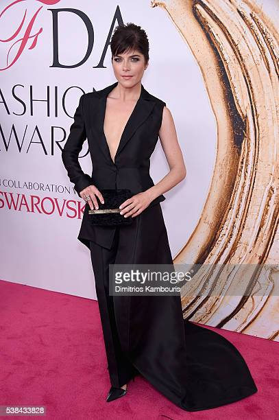 Actress Selma Blair attends the 2016 CFDA Fashion Awards at the Hammerstein Ballroom on June 6, 2016 in New York City.