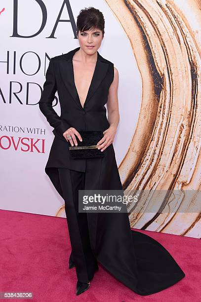 Actress Selma Blair attends the 2016 CFDA Fashion Awards at the Hammerstein Ballroom on June 6 2016 in New York City