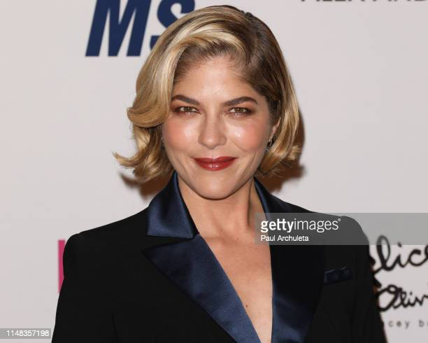 Actress Selma Blair attends the 26th annual Race To Erase MS Gala at The Beverly Hilton Hotel on May 10, 2019 in Beverly Hills, California.