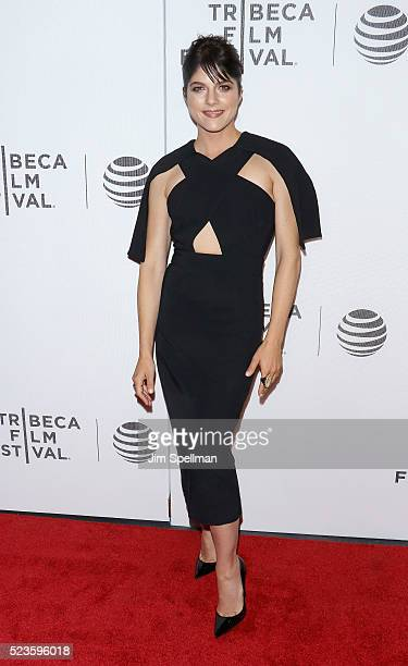 "Actress Selma Blair attends the ""Geezer"" premiere during the 2016 Tribeca Film Festival at Spring Studios on April 23, 2016 in New York City."