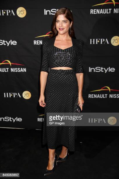 Actress Selma Blair attends The Hollywood Foreign Press Association and InStyle's annual celebrations of the 2017 Toronto International Film Festival...