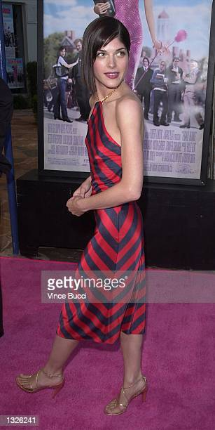 "Actress Selma Blair attends the premiere of MGM Pictures'' ""Legally Blonde"" June 26, 2001 in Los Angeles, CA."